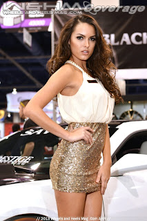 Super Promo Model Constance Nunes at SEMA2013 for Savini constance_nunes