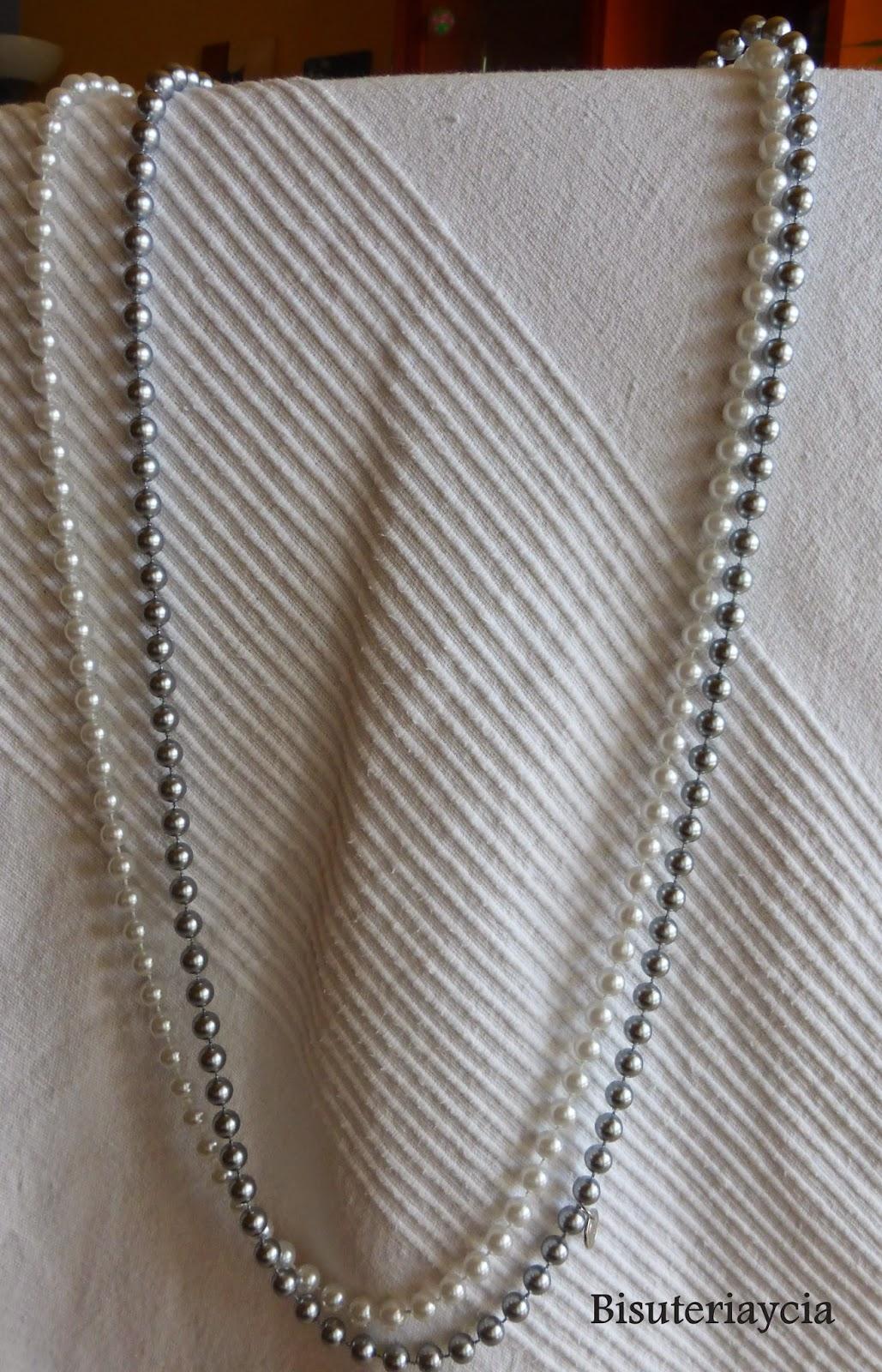 6f69474b51ee Empezaremos comprado dos collares super largos de perlas