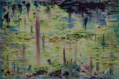 Oana-Singa-Artist-Lake-II-painting