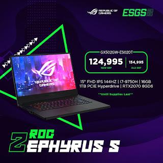 ROG Zephyrus S GX502GW-ES020T