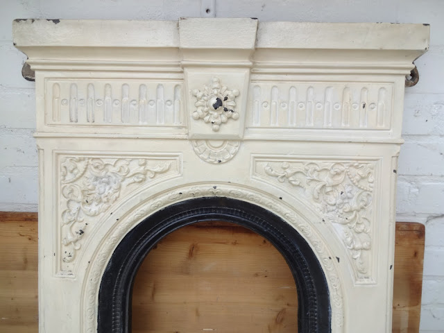 Fireplace Restoration Before
