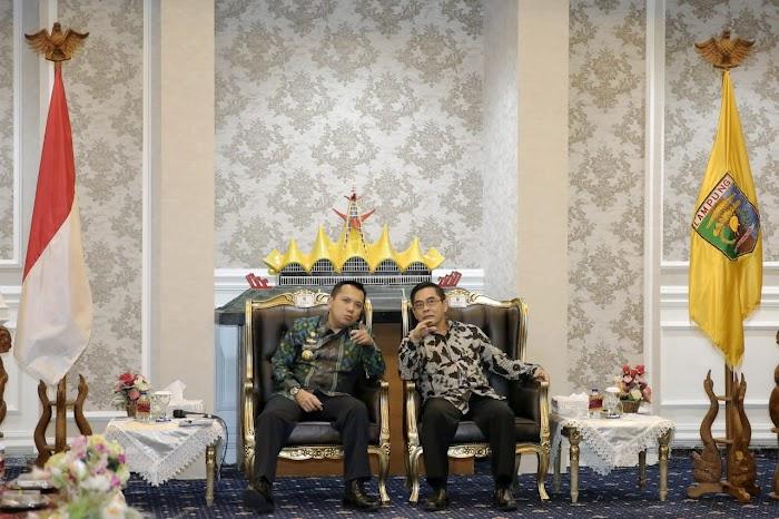 Perbesar SMK SMTI Bandar Lampung, Gubernur Ridho Hibahkan Tanah ke Kemenperin