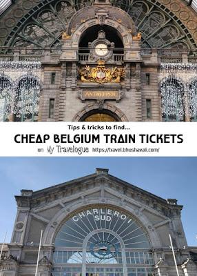 Belgian National Railway SNCB NMBS Tickets