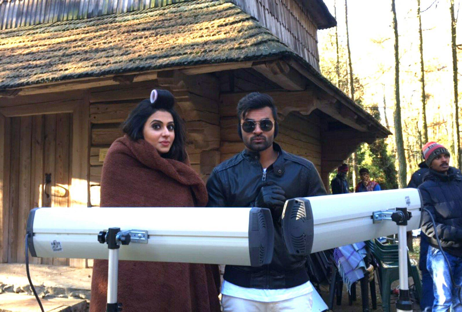 Rakul Preet, Sai Dharam Tej Winner Movie Working Stills