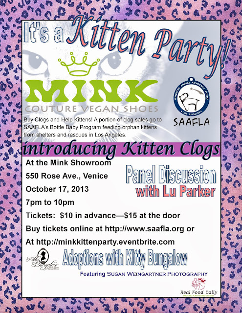 Kitten Party at Mink Shoes on Oct.17th! Buy tix now!!