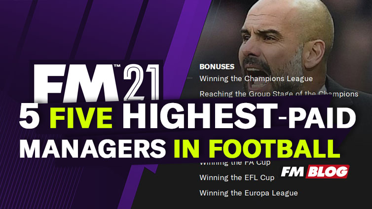 Ranking the Five Highest-Paid Managers in European Football in 2021