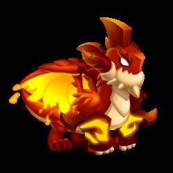 Dragon Gantelet (Jeune)
