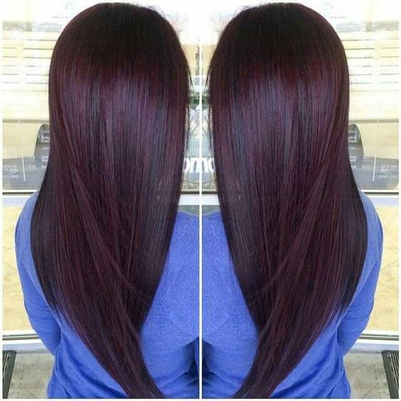 9 hottest chocolate cherry burgundy hair color ideas for 2017