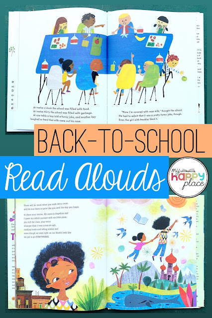 Back-to-School Read Alouds - kindergarten and first grade