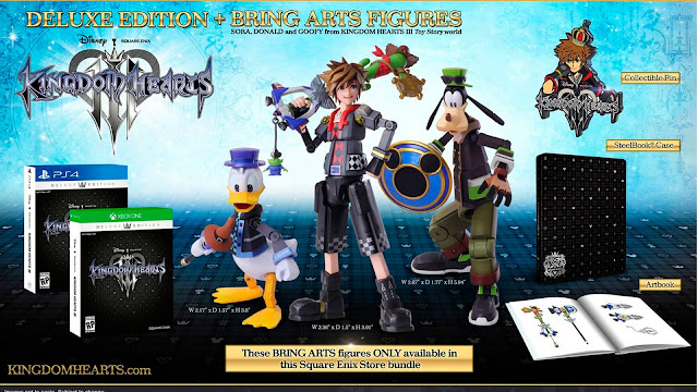 Unboxing edición deluxe Kingdom Hearts 3