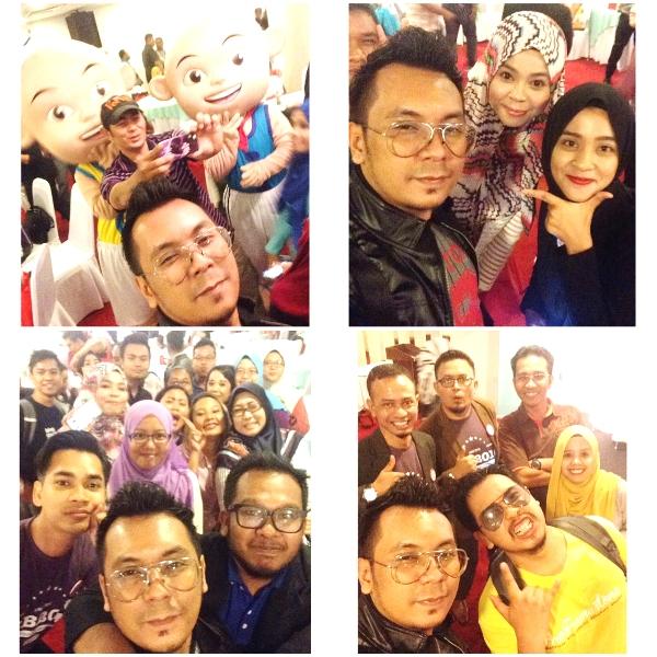 gambar-gambar selfie sepetang bersama blogger 2016