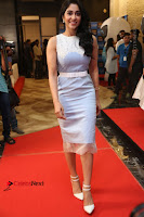 Actress Regina Candra Stills in Beautiful Sleeveless Blue Short Dress at SIIMA Short Film Awards 2017 .COM 0069.JPG