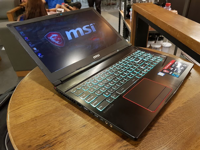MSI GE63 VR 7RE Raider | Benteuno.com