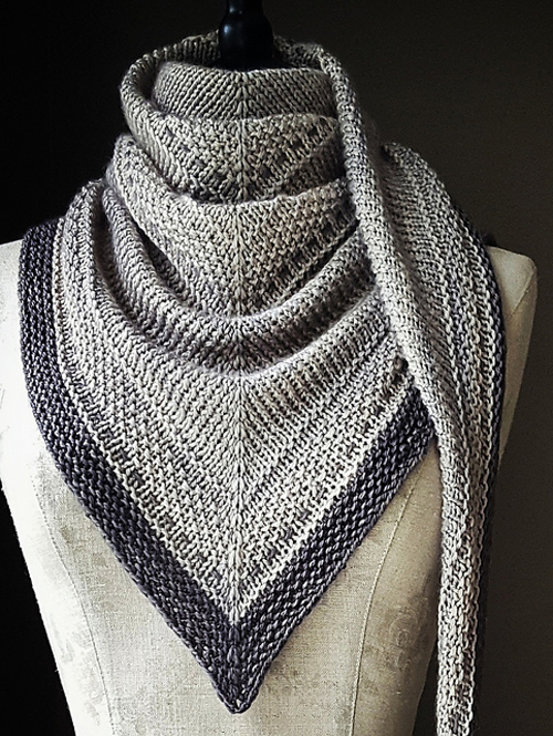 Simply Shawl - Knitting Pattern