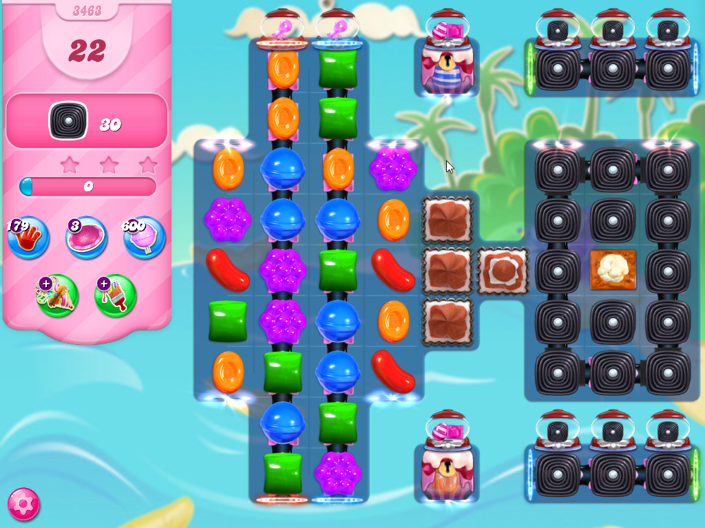 Candy Crush Saga level 3463