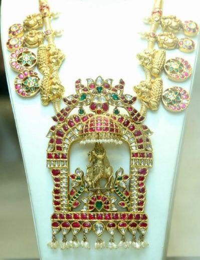 Bottu Mala with Krishna Pendant