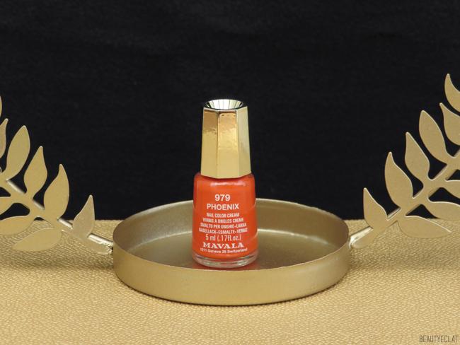 mavala solaris revue avis test swatch phoenix 979