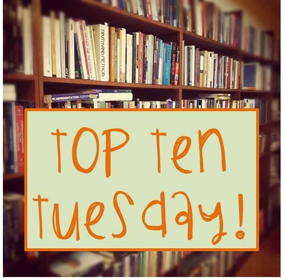 Mentor's Reader: Top Ten Tuesday: Bookish Problems