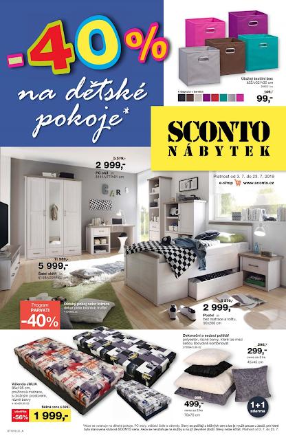 leták SCONTO nábytek - ukázka - milanrericha.cz - Cashback World