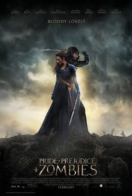 Pride and Prejudice and Zombies (2016) Bluray