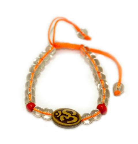 Rakhi Handmade Handicraft Om Bracelet in Silk Thread @ Rs.5/-