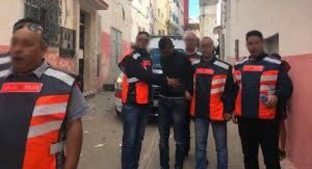 خطير: شاب هائج حاول إضرام النار داخل مقاطعة إدارية بتارودانت