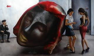 pinturas-de-mujeres-con-gestos-de-vida-cotidiana retratos-mujeres-vida-cotidiana