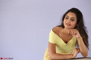 Shipra gaur in V Neck short Yellow Dress ~  023.JPG