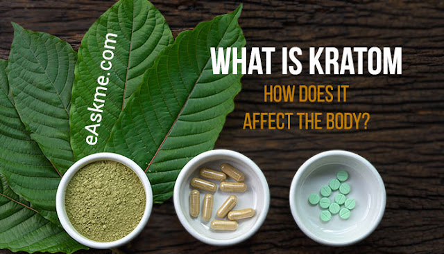 What Is Kratom And How Does It Affect The Body?: eAskme