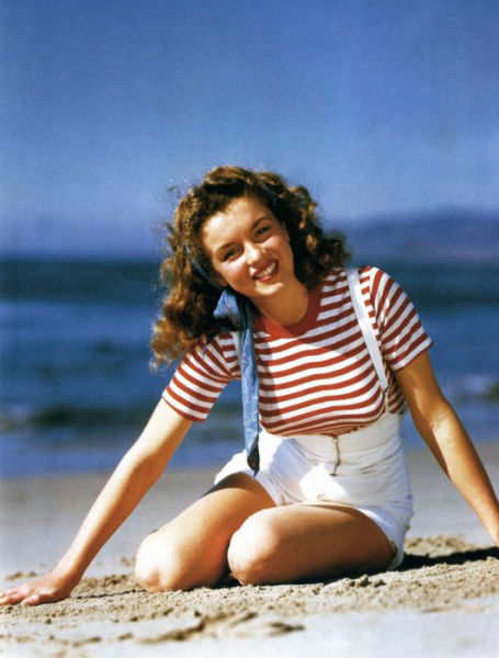 When Marilyn Monroe was Norma Jeane hot images