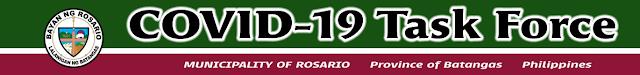 COVID-19 Task Force Rosario Batangas