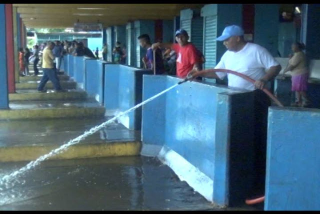 Realizada jornada de limpieza en el terminal Humberto Hernández del municipio San  Fernando.