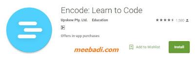 Encode Learn to Code app