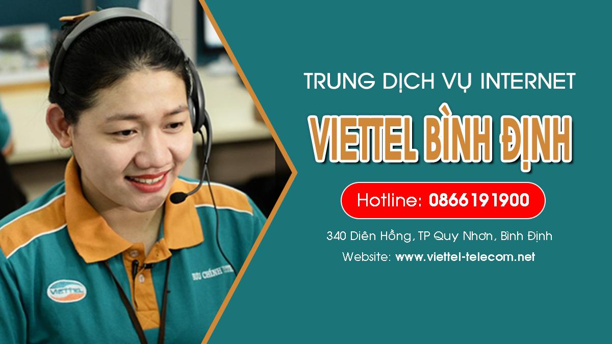 Viettel Bình Định - Đăng ký lắp mạng Internet và Truyền hình ViettelTV