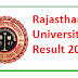 Rajasthan University BSC Result 2017 uniraj.ac.in Uniraj (1st,2nd,3rd) Results 2017