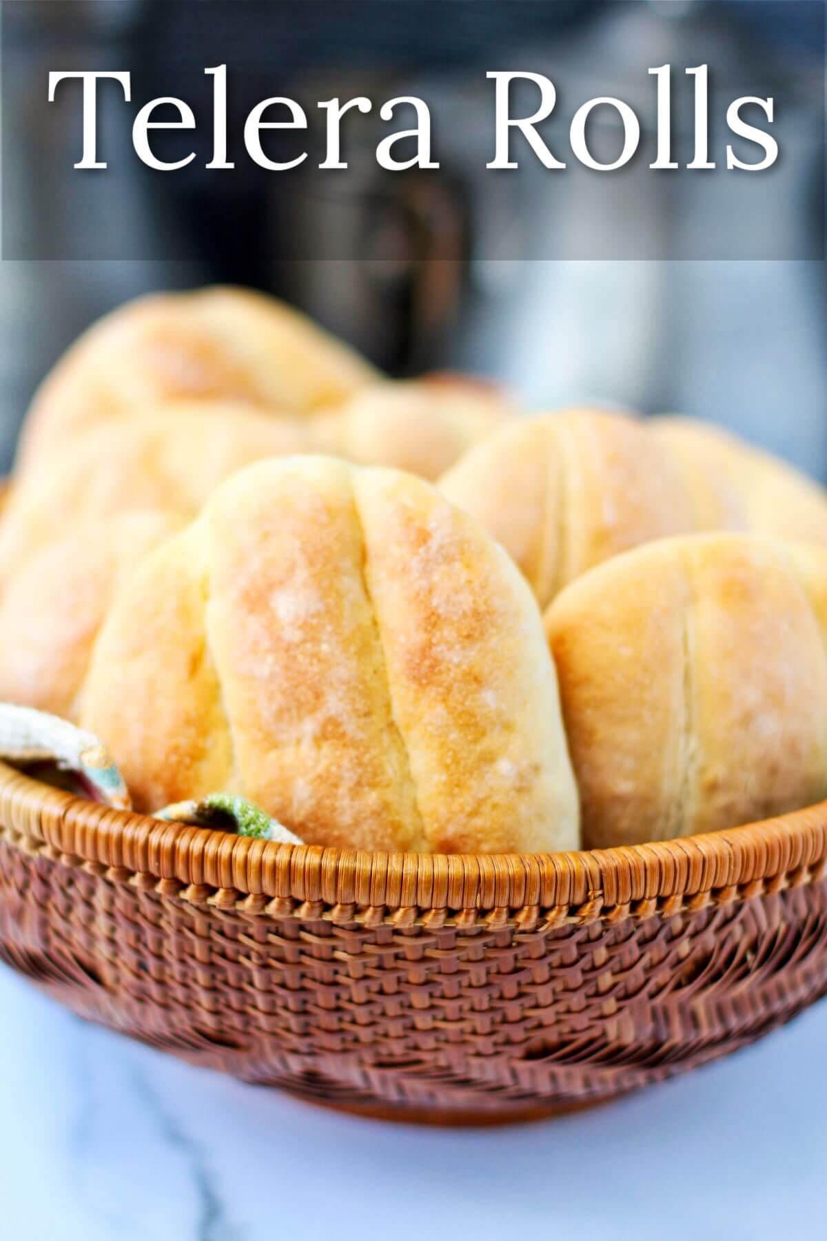 Telera rolls (Mexican sandwich bread)