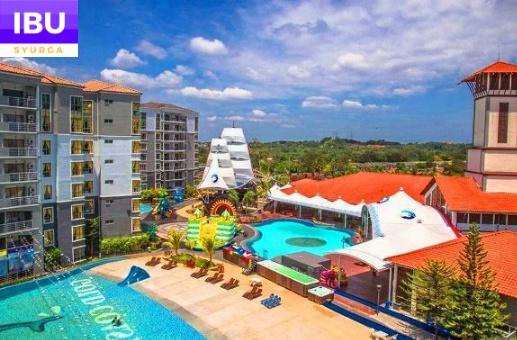 Gold Coast Melaka Resort permainan untuk kanak kanak