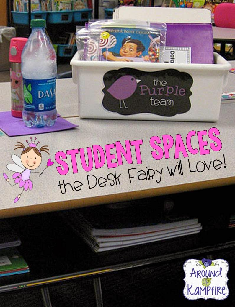 Organized Student Desk Student Spaces The Des...