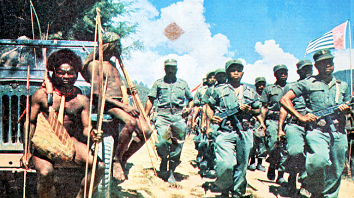 Perjungan  Papua Merdeka Tidak Akan Pernah Dipadamkan Indonesia