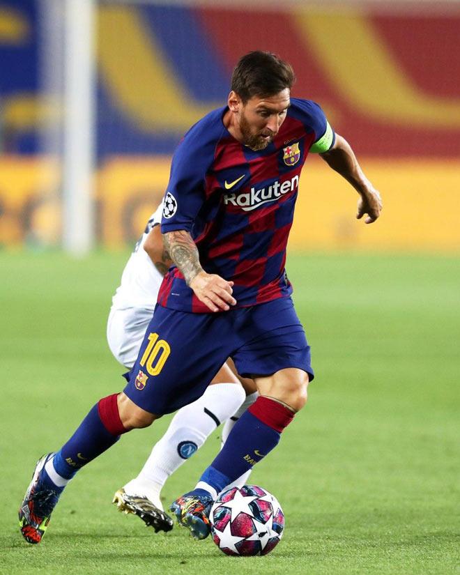 Video Barcelona - Napoli: Messi tạo khoảnh khắc thiên tài 2