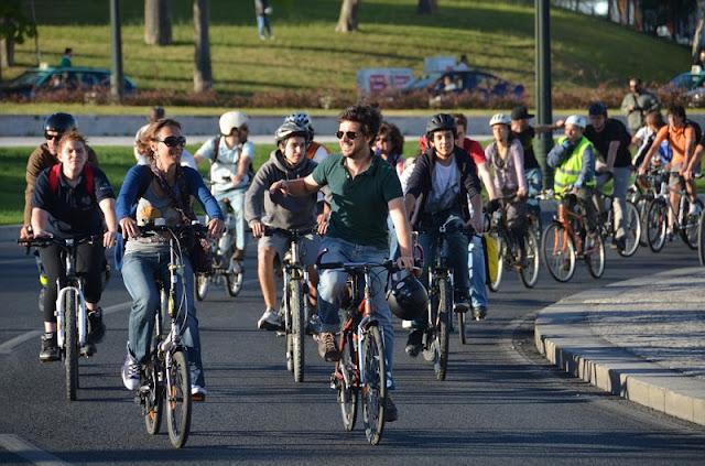 Bicicletada em Lisboa