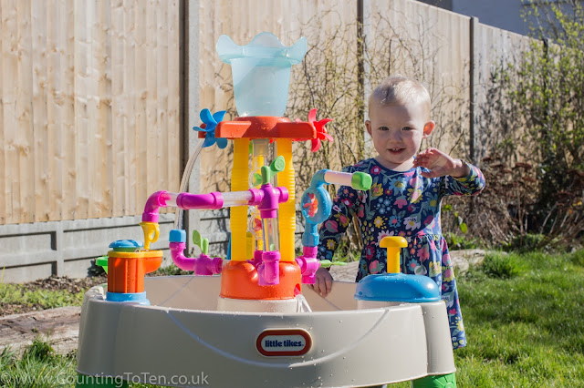 The Little Tikes Fountain Factory Water Table