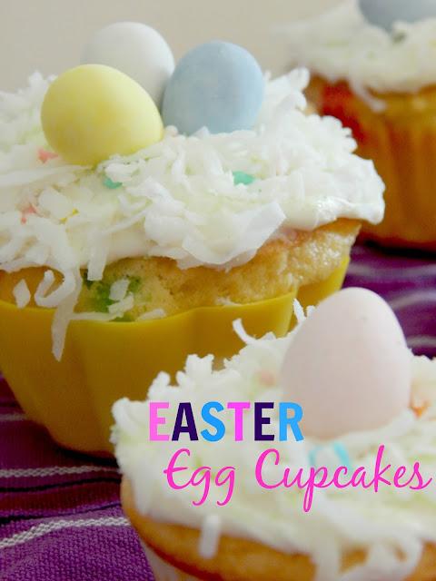 easter egg cupcakes (sweetandsavoryfood.com)