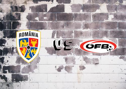 Rumanía vs Austria  Resumen
