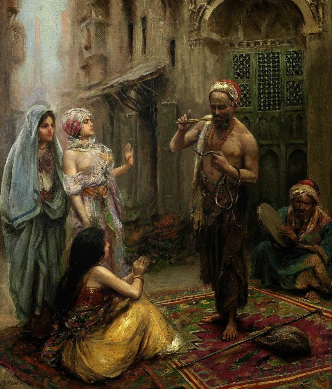 لوحات نادرة مصر بعيون Fabio Fabbi - مجموعة ثانية