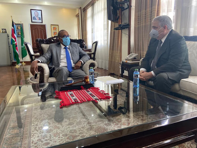 Foreign Affairs PS Macharia Kamau