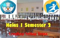 Jurnal Harian Kurikulum 2013 Kelas 1 Semester 2 Lengkap Setiap Tema