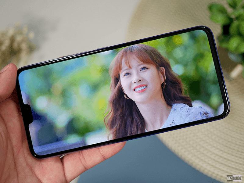6.44-inch AMOLED screen