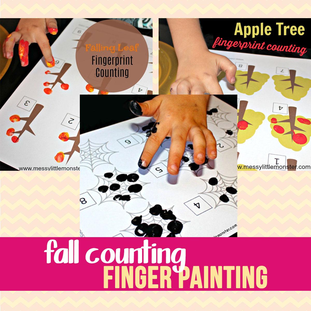 fall fingerprint counting activity