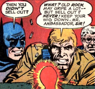 Brave and the Bold #96, Batman and Sgt Rock